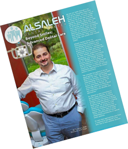 Dr Hani AlSaleh In The Around The Panhandle Magazine